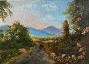 Van élet hatvan felett - Tomozi Gizella festményei