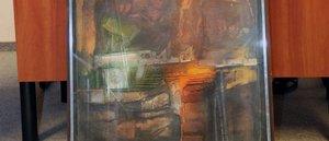 Esztergomi festő művével segített a megyei önkormányzat