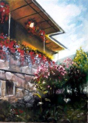 Klastromi ház virágokkal.jpg