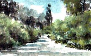 Út a Tiszához (15x21)
